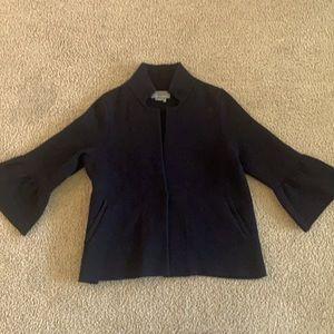 Anthropology black cardigan size S